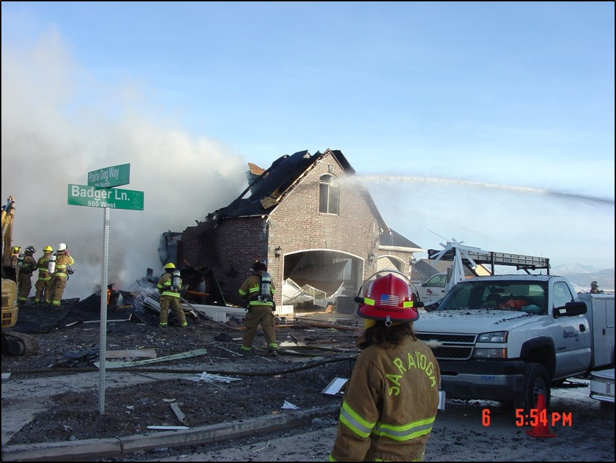 Tragic consequences of gas line strike in Saratoga Springs, 2007